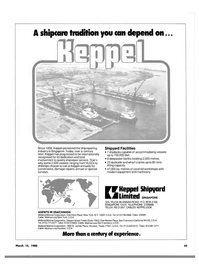 Maritime Reporter Magazine, page 37,  Mar 15, 1980 One Market Plaza