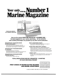 Maritime Reporter Magazine, page 43,  Mar 15, 1980 marine advertising