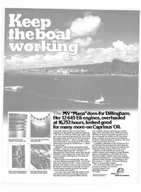 Maritime Reporter Magazine, page 5,  Mar 15, 1980 base oil keeps ring groove