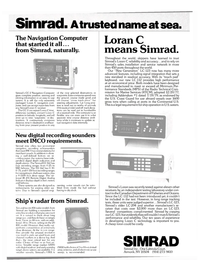 Maritime Reporter Magazine, page 16,  Apr 1980 Simrad Loran C