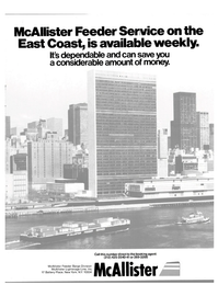 Maritime Reporter Magazine, page 1,  Apr 1980 McAllister Feeder Barge Division