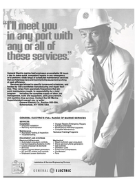 Maritime Reporter Magazine, page 44,  Apr 1980 Fans Installation & Service Engineering Division