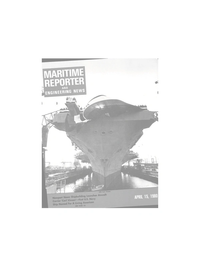 Maritime Reporter Magazine Cover Apr 15, 1980 -