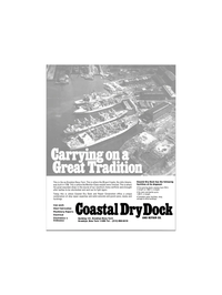 Maritime Reporter Magazine, page 6,  Apr 15, 1980 Ordinance Coastal Dry Dock