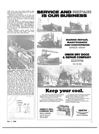 Maritime Reporter Magazine, page 19,  May 1980