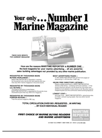 Maritime Reporter Magazine, page 31,  May 1980 marine advertising