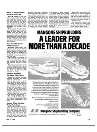 Maritime Reporter Magazine, page 43,  May 1980 Iowa