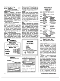 Maritime Reporter Magazine, page 3rd Cover,  May 1980