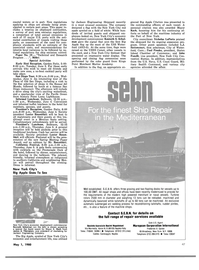 Maritime Reporter Magazine, page 4th Cover,  May 1980 Connecticut