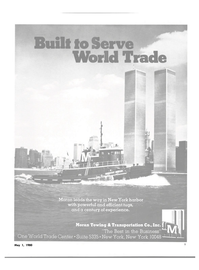 Maritime Reporter Magazine, page 7,  May 1980 World Trade Center