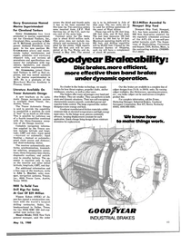 Maritime Reporter Magazine, page 3rd Cover,  May 15, 1980