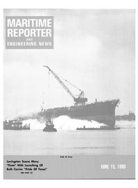 Maritime Reporter Magazine Cover Jun 15, 1980 -