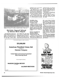 Maritime Reporter Magazine, page 14,  Jun 15, 1980 Delaware