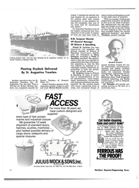 Maritime Reporter Magazine, page 16,  Jun 15, 1980 Tony