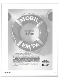 Maritime Reporter Magazine, page 29,  Jun 15, 1980 Mobil Oil Corporation