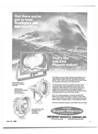 Maritime Reporter Magazine, page 31,  Jun 15, 1980 PHOSNUORODUCTS COMPANY INC.