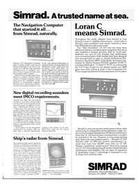 Maritime Reporter Magazine, page 37,  Jun 15, 1980 Simrad Loran C