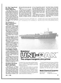 Maritime Reporter Magazine, page 27,  Jul 1980 Illinois