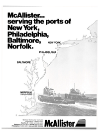 Maritime Reporter Magazine, page 1,  Jul 1980 McAllister Brothers Inc.