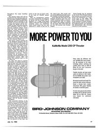 Maritime Reporter Magazine, page 15,  Jul 15, 1980 Marine Division