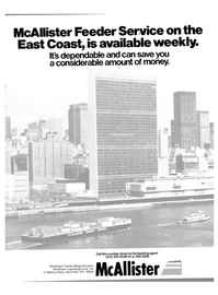 Maritime Reporter Magazine, page 1,  Jul 15, 1980 McAllister Feeder Barge Division