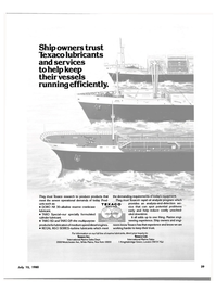 Maritime Reporter Magazine, page 29,  Jul 15, 1980 rapid oil analysis program