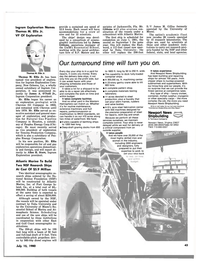 Maritime Reporter Magazine, page 3rd Cover,  Jul 15, 1980 Florida