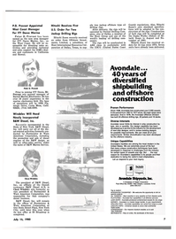 Maritime Reporter Magazine, page 5,  Jul 15, 1980 California