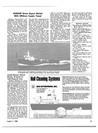 Maritime Reporter Magazine, page 11,  Aug 1980