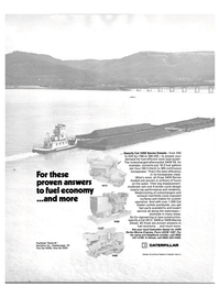 Maritime Reporter Magazine, page 20,  Aug 1980 Caterpillar Tractor Co.