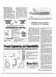 Maritime Reporter Magazine, page 28,  Aug 1980