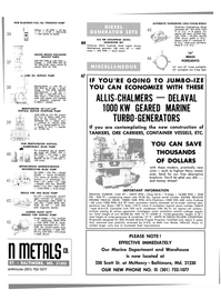 Maritime Reporter Magazine, page 31,  Aug 1980