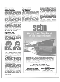 Maritime Reporter Magazine, page 35,  Aug 1980 Delaware