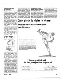 Maritime Reporter Magazine, page 3,  Aug 1980 George C. Mulick
