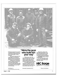 Maritime Reporter Magazine, page 5,  Aug 1980 Bernie Logan