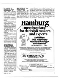 Maritime Reporter Magazine, page 13,  Aug 15, 1980 Arthur J. Boyle