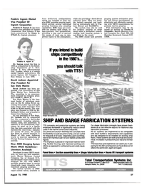 Maritime Reporter Magazine, page 35,  Aug 15, 1980