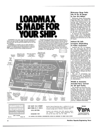 Maritime Reporter Magazine, page 2,  Aug 15, 1980 Mississippi