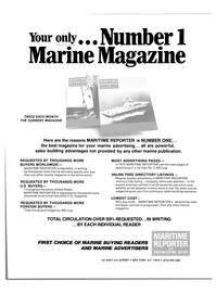 Maritime Reporter Magazine, page 43,  Aug 15, 1980