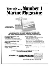 Maritime Reporter Magazine, page 43,  Aug 15, 1980 marine advertising