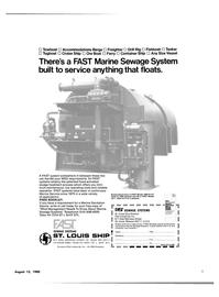 Maritime Reporter Magazine, page 3,  Aug 15, 1980 MARINE SEWAGE SYSTEMS