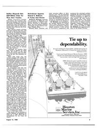 Maritime Reporter Magazine, page 7,  Aug 15, 1980 Texas