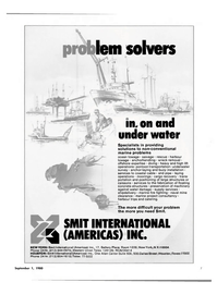 Maritime Reporter Magazine, page 5,  Sep 1980 pontoon transportation