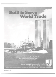 Maritime Reporter Magazine, page 7,  Sep 1980 New York Harbor