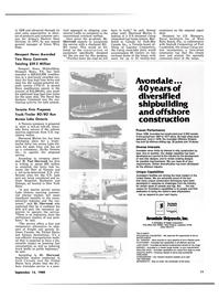 Maritime Reporter Magazine, page 9,  Sep 15, 1980 Virginia