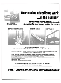 Maritime Reporter Magazine, page 42,  Sep 15, 1980 PORT AUTHORITIES Directors