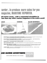 Maritime Reporter Magazine, page 43,  Sep 15, 1980