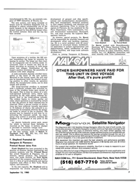 Maritime Reporter Magazine, page 5,  Sep 15, 1980