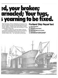 Maritime Reporter Magazine, page 7,  Sep 15, 1980 Willamette Iron & Steel Company