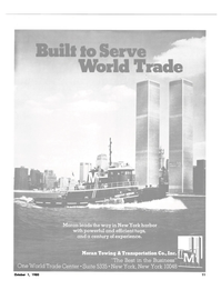 Maritime Reporter Magazine, page 9,  Oct 1980 New York Harbor